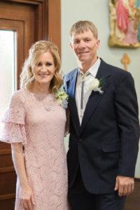 Gina Stallcup with her husband Robert