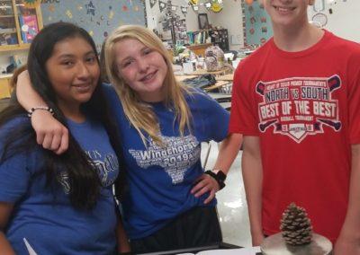 Windthorst Junior High School Students