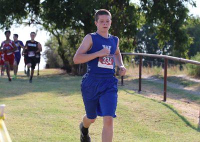 Windthorst Junior High School Track Team Running