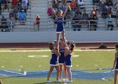 Windthorst Junior High School Cheerleaders Cheering