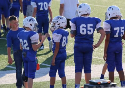 Windthorst Junior High School Football Players