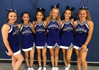 Windthorst Junior High School Cheerleaders